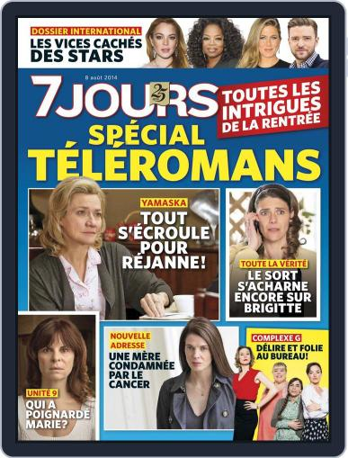 7 Jours (Digital) July 31st, 2014 Issue Cover
