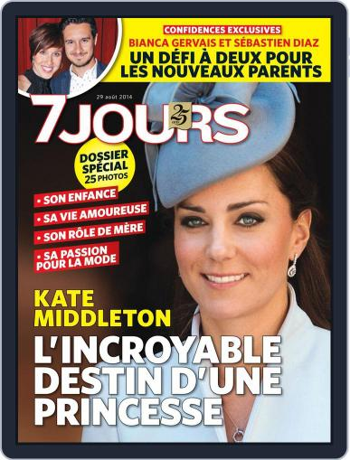 7 Jours (Digital) August 22nd, 2014 Issue Cover