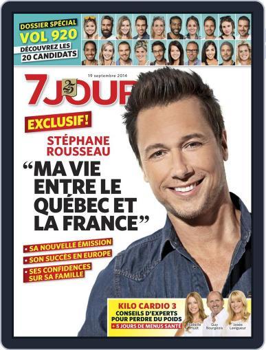 7 Jours (Digital) September 12th, 2014 Issue Cover