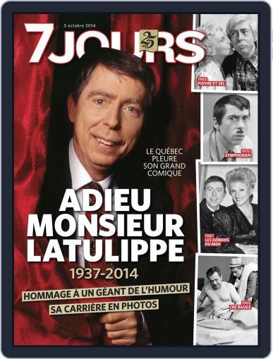 7 Jours (Digital) September 25th, 2014 Issue Cover