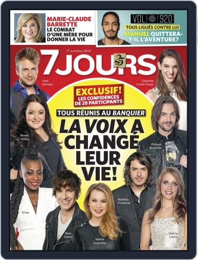 7 Jours (Digital) October 10th, 2014 Issue Cover