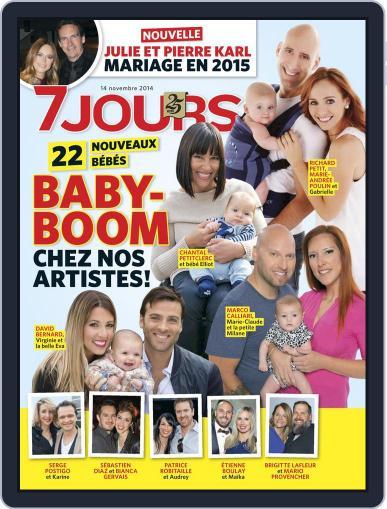 7 Jours November 7th, 2014 Digital Back Issue Cover