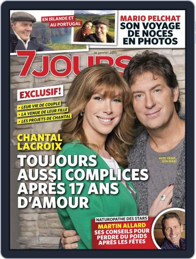 7 Jours January 8th, 2015 Digital Back Issue Cover