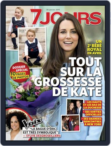 7 Jours (Digital) January 22nd, 2015 Issue Cover