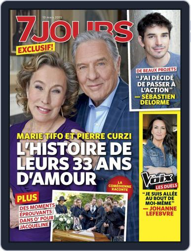 7 Jours March 13th, 2015 Digital Back Issue Cover