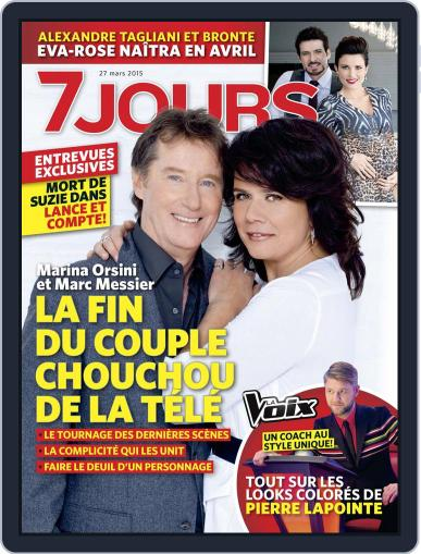 7 Jours (Digital) March 19th, 2015 Issue Cover
