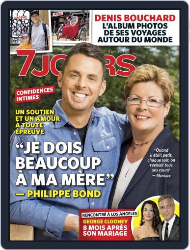 7 Jours (Digital) June 5th, 2015 Issue Cover