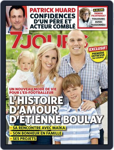 7 Jours (Digital) July 24th, 2015 Issue Cover