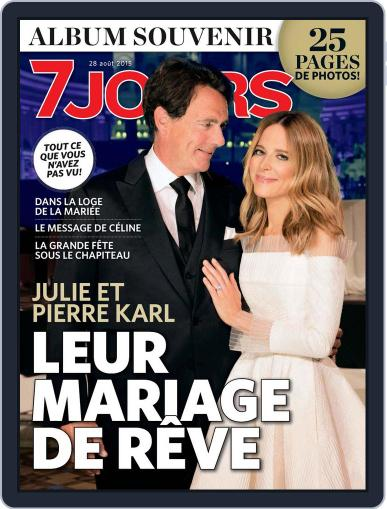7 Jours (Digital) August 28th, 2015 Issue Cover