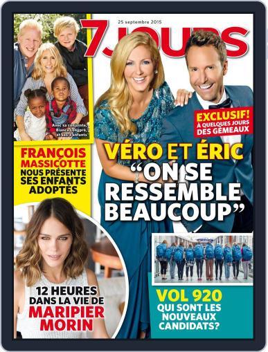 7 Jours September 25th, 2015 Digital Back Issue Cover
