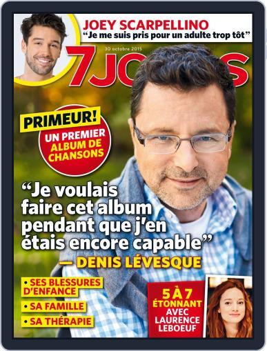 7 Jours (Digital) October 30th, 2015 Issue Cover