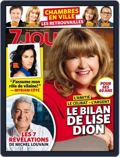 7 Jours November 13th, 2015 Digital Back Issue Cover