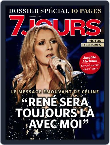 7 Jours (Digital) March 5th, 2016 Issue Cover