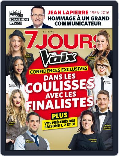 7 Jours (Digital) April 9th, 2016 Issue Cover