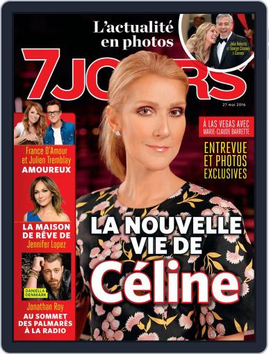 7 Jours May 27th, 2016 Digital Back Issue Cover