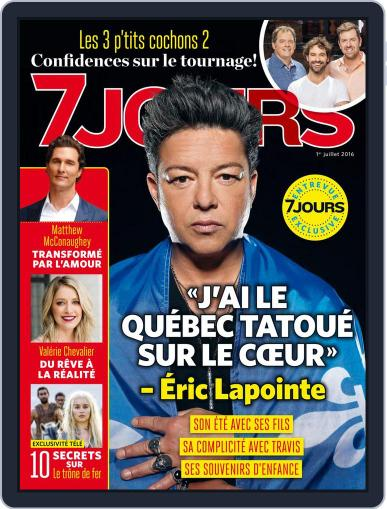 7 Jours (Digital) June 23rd, 2016 Issue Cover