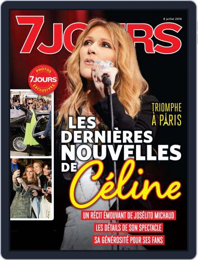 7 Jours (Digital) June 30th, 2016 Issue Cover