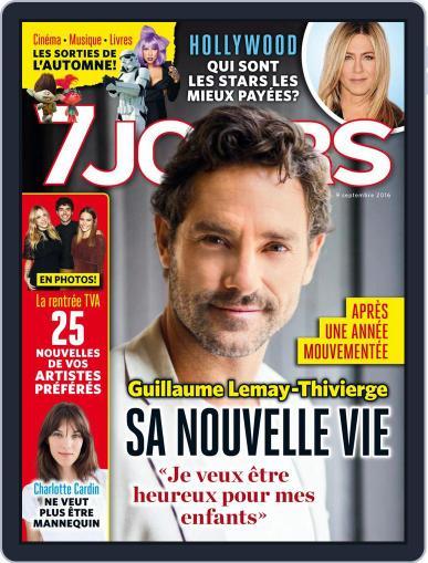 7 Jours September 9th, 2016 Digital Back Issue Cover