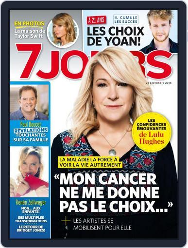7 Jours (Digital) September 23rd, 2016 Issue Cover