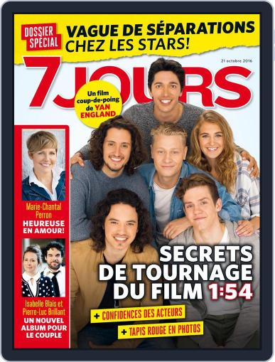 7 Jours October 21st, 2016 Digital Back Issue Cover