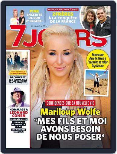 7 Jours (Digital) November 25th, 2016 Issue Cover