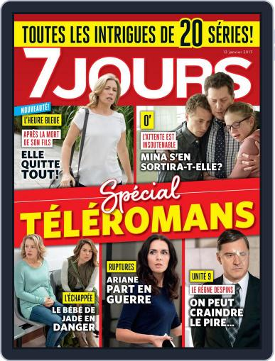 7 Jours (Digital) January 13th, 2017 Issue Cover