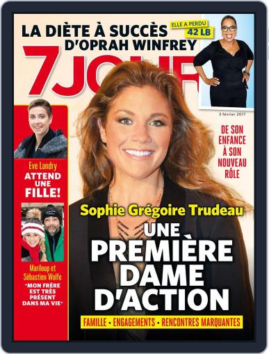 7 Jours (Digital) February 3rd, 2017 Issue Cover