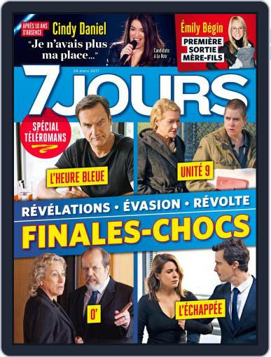 7 Jours March 24th, 2017 Digital Back Issue Cover