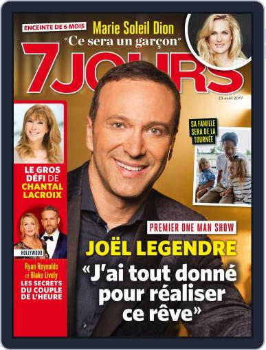 7 Jours (Digital) August 25th, 2017 Issue Cover