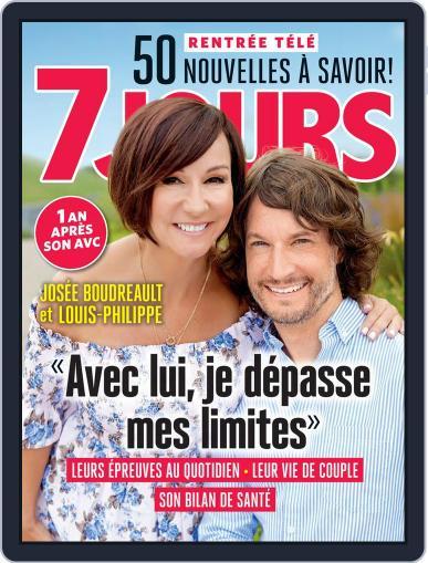 7 Jours (Digital) September 1st, 2017 Issue Cover