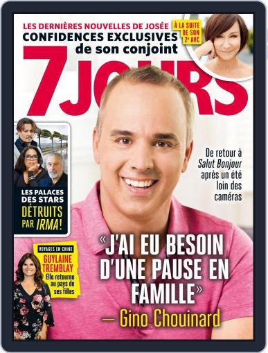 7 Jours (Digital) September 22nd, 2017 Issue Cover