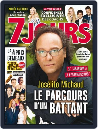 7 Jours (Digital) September 29th, 2017 Issue Cover