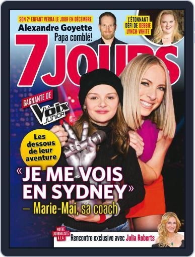 7 Jours (Digital) December 1st, 2017 Issue Cover