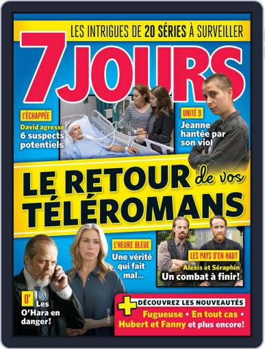 7 Jours (Digital) January 12th, 2018 Issue Cover