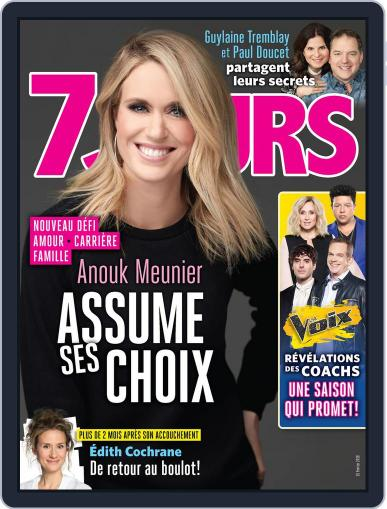 7 Jours February 16th, 2018 Digital Back Issue Cover