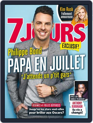 7 Jours (Digital) February 23rd, 2018 Issue Cover