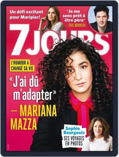 7 Jours (Digital) March 9th, 2018 Issue Cover