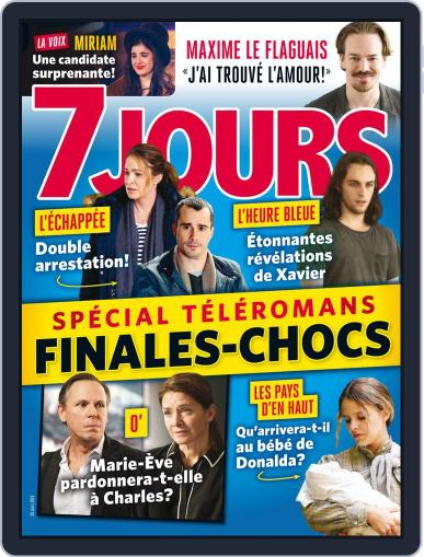 7 Jours March 30th, 2018 Digital Back Issue Cover