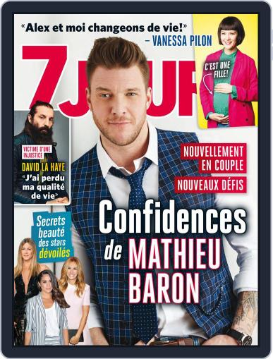 7 Jours (Digital) April 6th, 2018 Issue Cover
