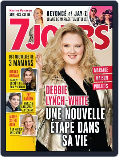 7 Jours (Digital) April 13th, 2018 Issue Cover