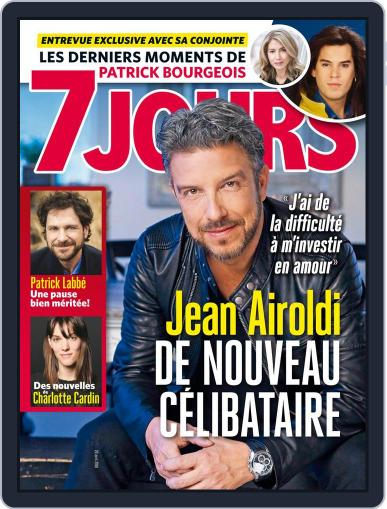 7 Jours (Digital) April 20th, 2018 Issue Cover