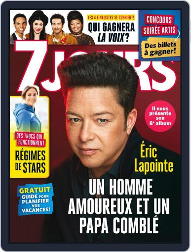 7 Jours (Digital) May 11th, 2018 Issue Cover