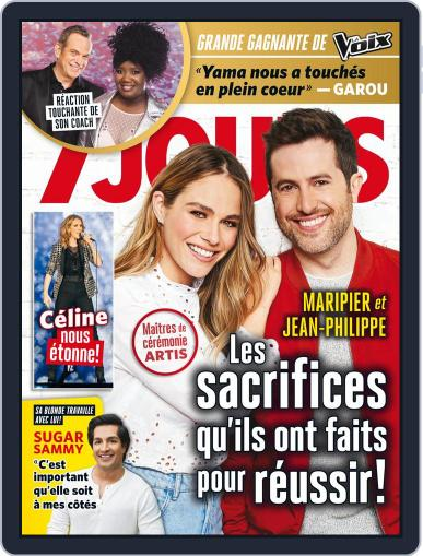 7 Jours (Digital) May 18th, 2018 Issue Cover