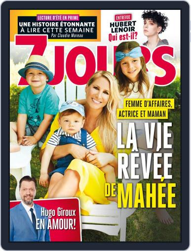 7 Jours (Digital) July 20th, 2018 Issue Cover
