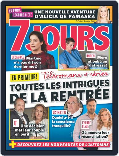 7 Jours (Digital) August 3rd, 2018 Issue Cover