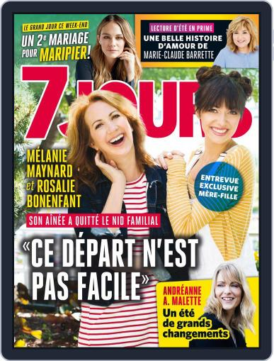 7 Jours (Digital) August 10th, 2018 Issue Cover