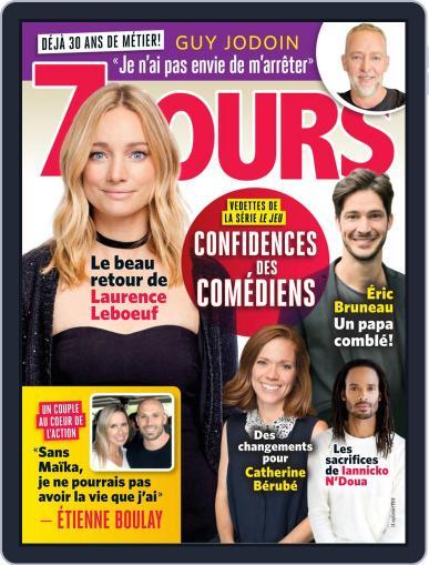7 Jours September 14th, 2018 Digital Back Issue Cover
