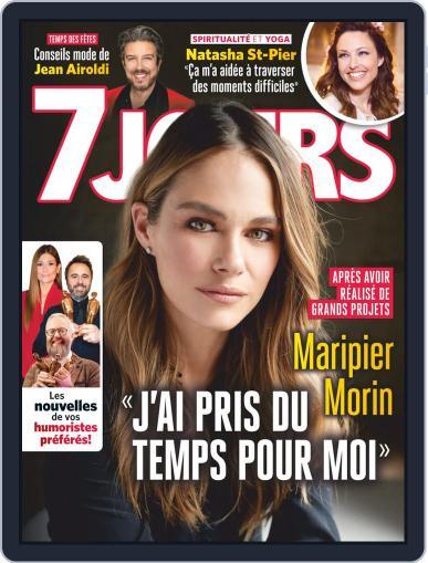 7 Jours (Digital) December 21st, 2018 Issue Cover