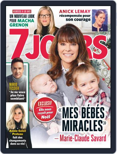 7 Jours (Digital) December 28th, 2018 Issue Cover
