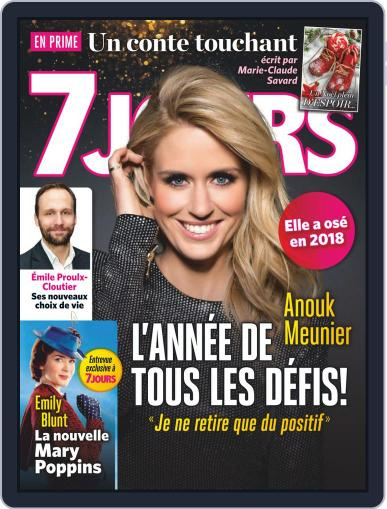 7 Jours January 4th, 2019 Digital Back Issue Cover